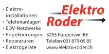 Elektro Roder, Rapperswil BE